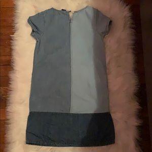 Gap Kids denim patch dress